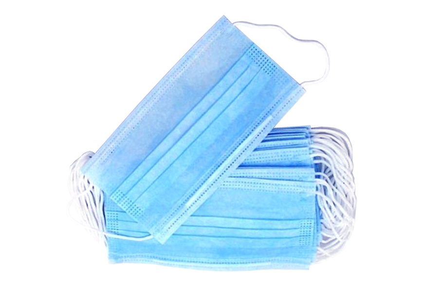 Surgical Masks Stacked
